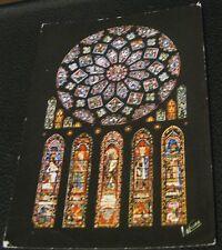 France Les Merveilles de Chartres La Rose nord Cathedrale - unposted