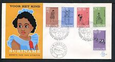 Suriname FDC E64 _ 2 M, code 2, blanco ;