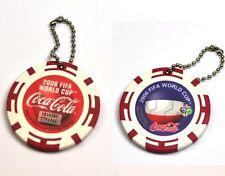Coca-Cola catena chiave dal Giappone Key Chain FIFA MONDO TAZZA 2006 SERBIA