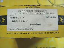 FASCE PISTONI GOETZE PASSFORM DIAM. 76 (76x2+2+4 mm.) RENAULT R16