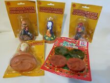 New listing Lot of Halloween, Fall, Thanksgiving Christmas Handle Cookie Cutters Stamp Press