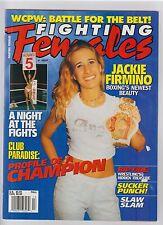 Fighting Females magazine Fall 2001 wrestling boxing
