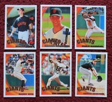 2010 Topps San Francisco Giants Baseball Team Set w/ Update (31 Cards) ~ POSEY +