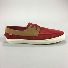 Vans La Zapato Gore CA Trainers Brand new in box in Red Grey UK Size 6,7,9,10