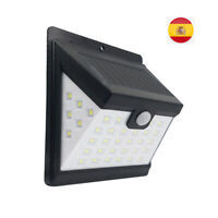 2x 40 LED Solar Luz de Pared Impermeable Sensor de Movimiento Lámpara Exterior