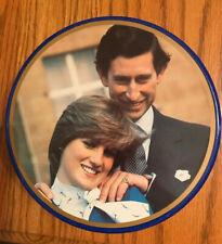 VTG Prince Charles Princess Lady Diane Wedding Collectible Cookie Tin-SHIPS FREE