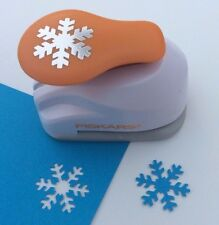 "Fiskars SNOWFLAKE Medium Lever Paper Punch - 1"" - Scrapbooking NEW"