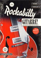 Lars Schurse Rockabilly Gitarre Lehrbuch Noten mit Download Code