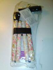 DMI Mobility Decorative Adjustable Folding Cane Floral Pattern