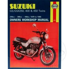Suzuki GSX 400 E 1983-1984 Haynes Service Repair Manual 0736
