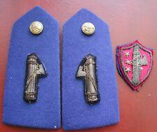 Fascist G.U.F. Pair Shoulder Board & Breast Shield Gruppi Universitari Fascisti