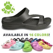 DAWGS Ladies Z-Sandals Arch Support Sandals - Black Sizes 5-11