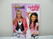 Hannah Montana2 Meet Miley Cyrus TV Series Songbook Music Piano Vocal Guitar