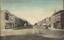 McPherson KS MaiN St. c1910 Postcard