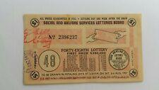 1957 48th Lottery drawn in Petaling Jaya