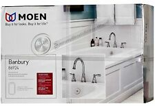 MOEN Banbury 2-Handle Deck-Mount Roman Tub Faucet in Chrome (NEW)