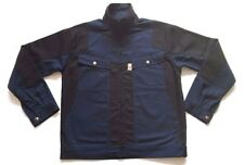 Quality Drivers Work Jacket Coat Workwear Size 48 Contrast Navy & Black Robust
