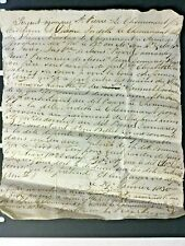 GUERNSEY letter 1830 mentioning famous family - Judith Le Cheminant in French