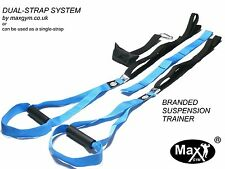 MaxGym® trainer. Duo Body Trainer. Suspension Straps dips pull up Fitness