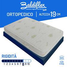 MATERASSO MATRIMONIALE 160X190 19 CM ORTOPEDICO RIGIDO IN ECO B-FOAM RECORD ALOE