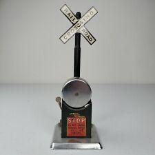 Vintage Lionel Ringing Bell Crossing Signal O Gauge 027