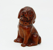 Exquisite 100% natural Rosewood Hand-carved dog antique statue Pendant