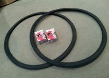 2 NEW DURO BICYCLE TIRES 700X28C, FIXIE TRACK URBAN, BLACK , & 2 TUBES