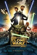 STAR WARS: THE CLONE WARS Movie POSTER 27x40 Created by George Lucas