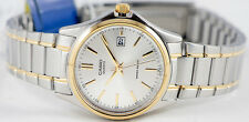Casio LTP-1183G-7AD Ladies Analog Watch Steel Gold and Silver Date Display New
