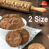 Christmas Embossing Rolling Pin Free Shipping DE