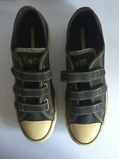 Mens All Star Converse Leather Velcro Trainers Size 7
