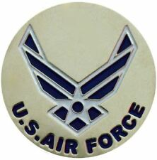 Two Sided Air Force Golf Ball Marker with USA Hat Clip
