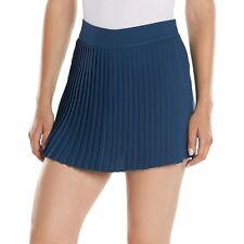NWT Lauren Conrad Pleated Front Crepe Skort size 6 Medievel Blue