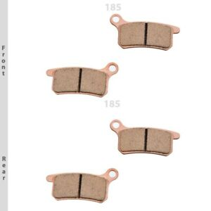 KTM XC65 / XC85 / XC105 '08-10 Brake Pads Replacement Sintered GOLDfren 185AD