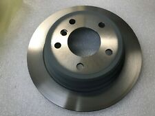 BMW E39 520 Rear Solid Drilled Brake Discs Saloon 95-03