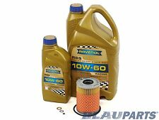BMW Oil Change Kit M3 Z3 M Z4 M – E46 E36 E85 – 3.2L I6 01-08 RAVENOL 10W-60 Oil