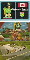 Holiday Inn, The World's Innkeeper.Five Different Vintage Postcard.