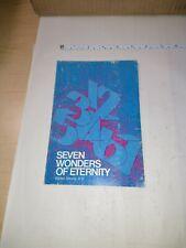 Seven Wonders Of Eternity Walter Strong D.D 1978