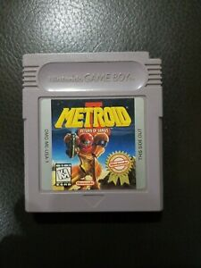 Metroid II Return of Samus - Gameboy Players Choice edition -Game Only - Working