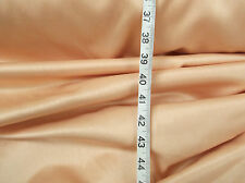 22 metres  Of Luxurious Hardy  Soft Feel Satin  In Peach