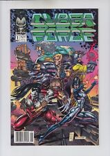 Cyber Force #1, 2, 8, & 9 Image newsstand NM- 9.2