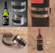 74| Thermomètre pour Bouteille de Vin-Cristal-Liquide-Thermomètre bouteille-vin