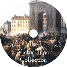 Victor Hugo Audio Book Collection on 1 MP3 DVD Les Mis Notre Fiction FREE SHIP