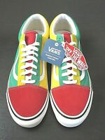 Vans Mens Old Skool 36 Dx Anaheim Factory shoes OG Red Yellow Green Size 9.5 NWT