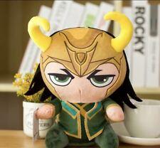 Marvel Avanger Loki Plüschtier Stofftier Kuscheltier Kinder Geschenk Spielzeug