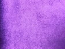 Purple Micro Suede Upholstery and Drapery Fabric  60