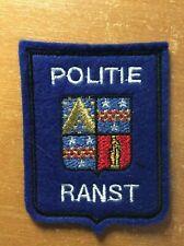 BELGIUM PATCH POLICE POLITIE - RANST - ORIGINAL