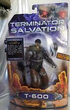 Terminator Salvation, T-600 Terminator w/interchangeable heads action figure NEW