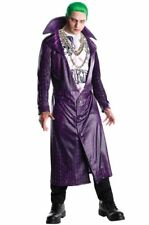 Rubies 2017 Suicide Squad Joker Halloween Costume Standard Mens M Jacket Shirt