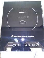 Burghoff. Touch Screen Induction Cooktop In Black With 1600 watt Element